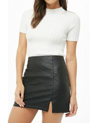Forever 21 - Quilted Mini Skirt - Lyst