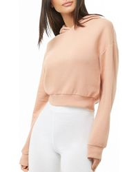 Forever 21 - Women's Dropped Shoulders Hoodie - Lyst