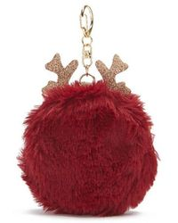 Forever 21 | Faux Fur Antler Coin Purse | Lyst