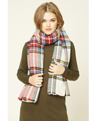 Forever 21 - Plaid Flannel Scarf - Lyst