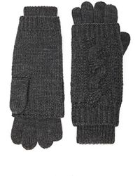Forever 21 - Cable-knit Gloves - Lyst
