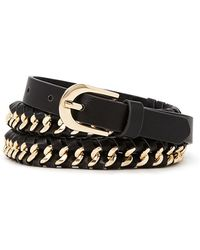 Forever 21 - Braided Faux Leather Belt - Lyst