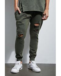 Forever 21 - Empire Distressed Sweatpants - Lyst