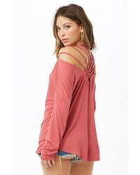 Forever 21 - Caged-back Top - Lyst