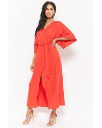 Forever 21 - Tulip Kimono Maxi Dress - Lyst