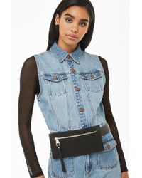 Forever 21 - Faux Leather Structured Bum Bag - Lyst