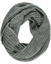 FOREVER21 - Chunky Knit Infinity Scarf - Lyst