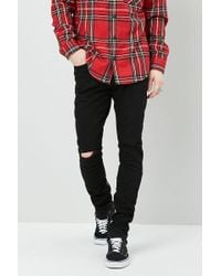 Forever 21 - 's Ankle-zip Skinny Jeans - Lyst