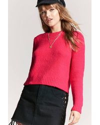 Forever 21 | Ribbed Knit Jumper | Lyst