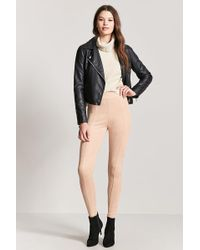 Forever 21 | Faux Suede High-rise Trousers | Lyst