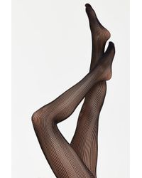 Forever 21 - Sheer Ribbed Tights - Lyst