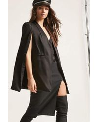 Forever 21 - Open-front Cape Blazer - Lyst