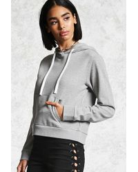 Forever 21 - Women's French Terry Hoodie - Lyst
