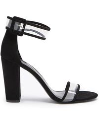 Forever 21 - Translucent Chunky Heels - Lyst