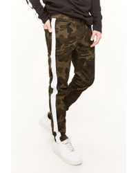 Forever 21 - Victorious Side Stripe Camo Jeans - Lyst