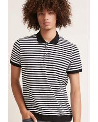 Forever 21 - Striped Polo Shirt - Lyst