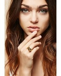 Forever 21 - Amber Sceats Metal Alexia Ring - Lyst