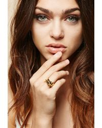 FOREVER21 - Amber Sceats Metal Alexia Ring - Lyst