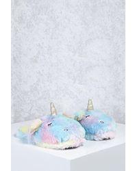 Forever 21 | Unicorn Slippers | Lyst