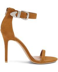 Forever 21 - Shoe Republic Denim Stiletto Heels - Lyst