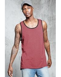Forever 21 - 's Striped Tank Top - Lyst