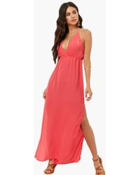 Forever 21 - Strappy Maxi Dress - Lyst