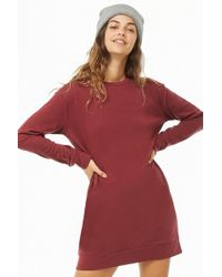 Forever 21 - Mini Sweatshirt Dress - Lyst