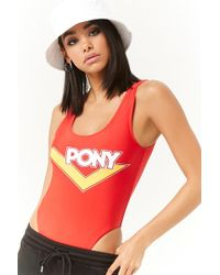 Forever 21 - Pony One-piece Swimsuit - Lyst