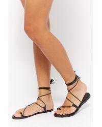Forever 21 - Lace-up Tassel Gladiator Sandals - Lyst