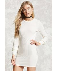 Forever 21 - Ribbed Knit Bodycon Dress - Lyst