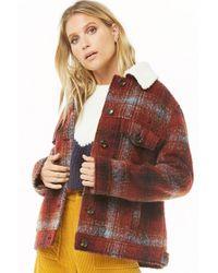 Forever 21 - Women's Multicolor Faux Fur Coat - Lyst