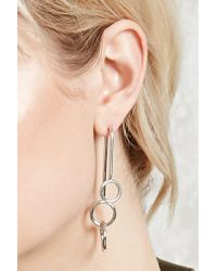 FOREVER21 - O-ring Ear Jackets - Lyst