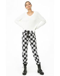 Forever 21 - Checkered Tokyo Joggers - Lyst