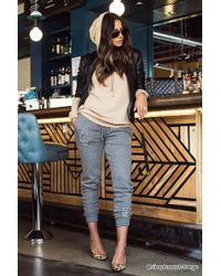 Forever 21 - Distressed Knit Jogger - Lyst