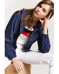 Forever 21 - Parka con capucha - Lyst