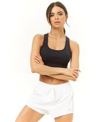 Forever 21 - Active Mesh Panel Shorts - Lyst