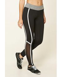 Forever 21 - Active Contrast Leggings - Lyst