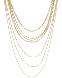 Forever 21 - Layered Chain Necklace Set , Gold - Lyst