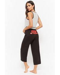 Forever 21 - Juicy Couture Graphic Pajama Set - Lyst