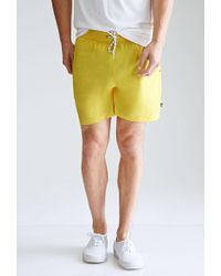 Forever 21 - Rope-drawstring Swim Trunks - Lyst