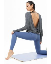 Forever 21 - Active Surplice Back Top - Lyst