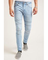 Forever 21 - Panelled Skinny Jeans - Lyst