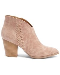 Forever 21 - Qupid Faux Leather Booties - Lyst