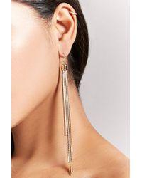 Forever 21 - Fringe Duster Earrings - Lyst