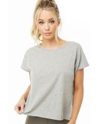 Forever 21 - Active Twisted Hem Tee - Lyst