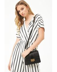Forever 21 - Faux Leather Satchel - Lyst