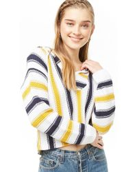 Forever 21 - Hooded Striped Jumper - Lyst