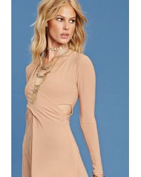 Forever 21 - Women's Contemporary Surplice Dress - Lyst