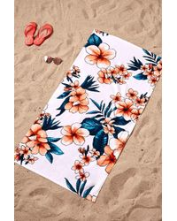 Forever 21 - Floral Print Beach Towel - Lyst