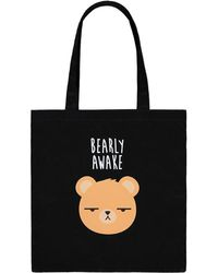 Forever 21 - Bearly Awake Graphic Eco Tote Bag - Lyst
